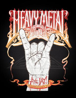 Heavy Metal Fun Time Activity Book By Jay, Aye